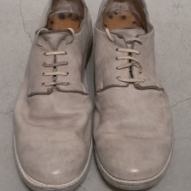 GUIDI - LOW CUT SHOES 16 HORSE FULL GRAIN DUSTY WHITE