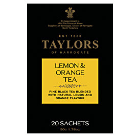 TAYLORS OF HARROGATE - Lemon & Orange Tea Bags