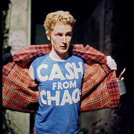 "A Child of the Jago  - Tribute to Malcolm McLaren's ""CASH FROM CHAOS"" T-shirts"