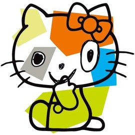 SANRIO - Hello Kitty designed by Javier Mariscal (Provided by Sanrio Co.)