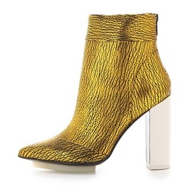 3.1 Phillip Lim - 3.1 Phillip Lim Peggy Metallic Ankle Booties