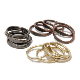 hobo - Brass 5 Layers Ring