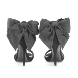 Alexander McQueen - Suede sandals with bow