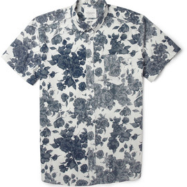 Saturdays Surf NYC - Esquina Floral-Print Cotton Shirt