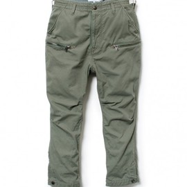 nonnative - HUNTER ANKLE CUT 6P PANTS – ORGANIC COTTON ARMY CLOTH