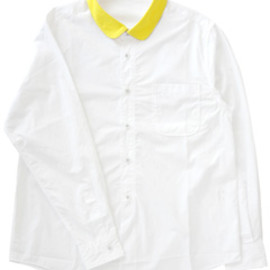 PHINGERIN - One Point Cleric Shirt  (yellow collar)