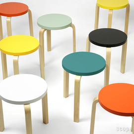 Artek - Artek(アルテック)Stool60 Paimio Colors Model