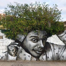 STREET art meet nature
