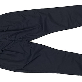 ENGINEERED GARMENTS - Willy Post Pant-High Count Twill-Navy