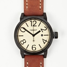 Tsovet - Brown Cream SVT-LS47 Watch