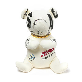 sacai - Teddy bear big WHITE 1