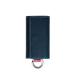 Whitehouse Cox - | S9692 KIECASE with RING / LONDONCALF × BRIDLE(NAVY/RED)