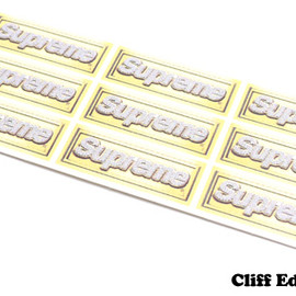 SUPREME - SUPREMEBling Logo Mini Sticker Sheet