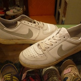"NIKE - 「<used>'85 NIKE CONVENTION LOW white/natural""made in KOREA"" size:26cm 10000yen」完売"