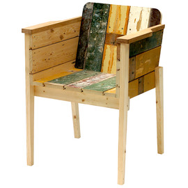 Piet Hein Eek - Scrapwood Arm Chair