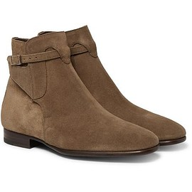 TOM FORD - Gloucester Suede Jodhpur Boots