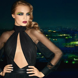 YVES SAINT-LAURENT - YSL beauty cara delevingne fall 2013