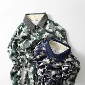 Curly - LS CAMO JAQ SHIRTS