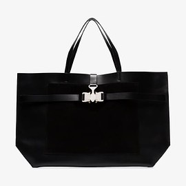 1017 ALYX 9SM - Tri-Buckle Tote Bag - Black