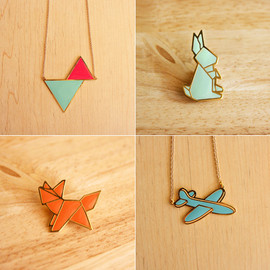 The LIttle Dröm Store - origami animal pins