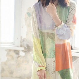 ohta - 2014ss シャツワンピース