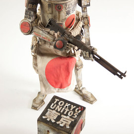 threeA Toys - WWR JAPAN DEFENCE FORCE SET