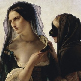 Francesco Hayez - Vengeance Is Sworn, 1851, oil on canvas