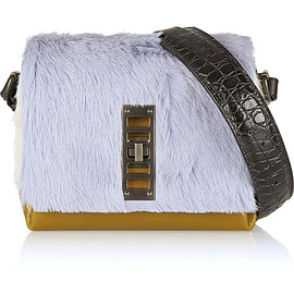 PROENZA SCHOULER - Elliot mini calf hair and leather shoulder bag