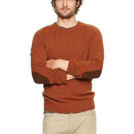 GAP - Lambswool elbow-patch sweater