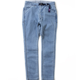 THE NORTH FACE PURPLE LABEL - COOLMAX® Stretch Denim Pants With Belt
