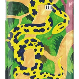 SECOND SKIN - Python designed by おおかわひさし / for  AQUOS PHONE SERIE ISW16SH/au