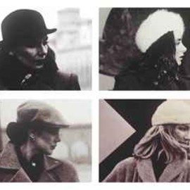 RICHARD PRINCE - Untitled (Four Women with Hats)