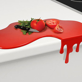 Hot Mess Splash Illusion(cutting board) $15