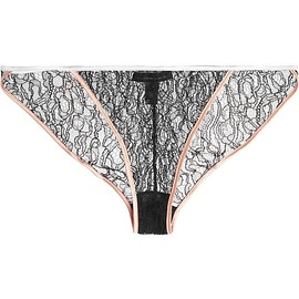 Kiki de Montparnasse - Ingenue stretch-Leavers lace briefs