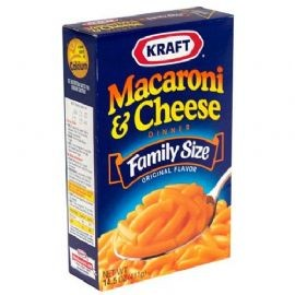 KRAFT - American Kraft Macaroni & Cheese Family Size Dinner