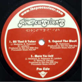 Procussions - All That It Takes / Procussions