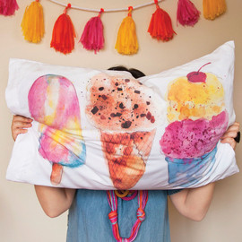 Ice Cream Pillowcases!