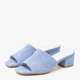 JEFFREY CAMPBELL - Farrow in Pale Blue Suede