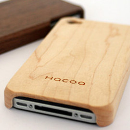 Hacoa - iPhone 4 wooden case