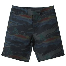 ADAM KIMMEL - black hawaiian board shorts