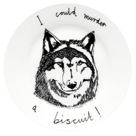 jimbobart - 'I Could Murder A Biscuit' Side Plate
