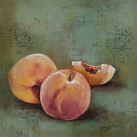 InGallery.com - Fruit Snack V! by Georgie Fine Art Canvas 12 x 12 in Gallery Wrap Wall Decor