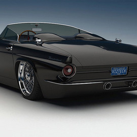Bo Zolland - Customized Thunderbird, Vizualtech Black Car