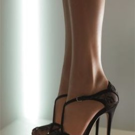 Valentino - Valentino Crystal Embellished Lace Sandal... lusting after this gorgeous shoe!!!!