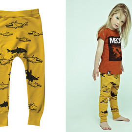 Mini & Maximus - Mustard JAWS pants