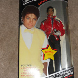 "LJN - 1984  Michael Jackson Doll ""Beat It"""