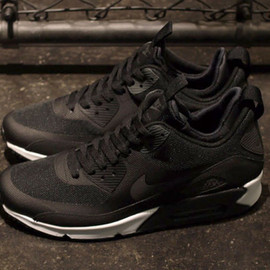 Nike - AIR MAX 90 SNEAKERBOOT NS 「LIMITED EDITION for NON FUTURE」 BLK/SLV/WHT