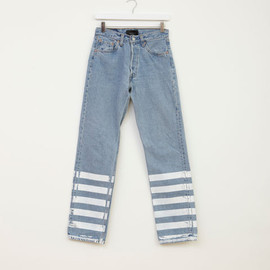 Lulu & Co - Lulu & Co - Levi's 501 Stripe Denim