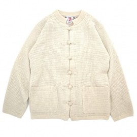 SON OF THE CHEESE - Alpaca china sweter BEIGE