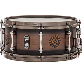 "MAPEX - ""NOMAD"" NewBlackPanther Snare Drum MAPEX 13x6"""